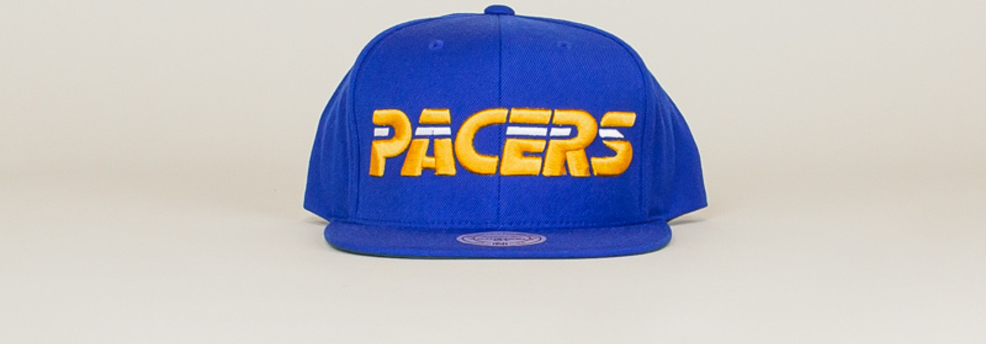 Mitchell & Ness Pacers Wool Solid Hat - Blue