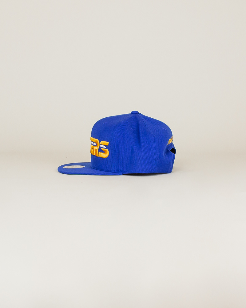 Mitchell & Ness Pacers Wool Solid Hat - Blue-2