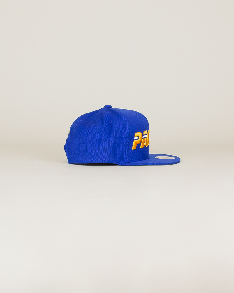 Mitchell & Ness Pacers Wool Solid Hat - Blue-3