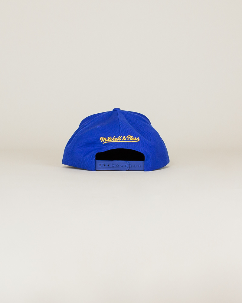 Mitchell & Ness Pacers Wool Solid Hat - Blue-4