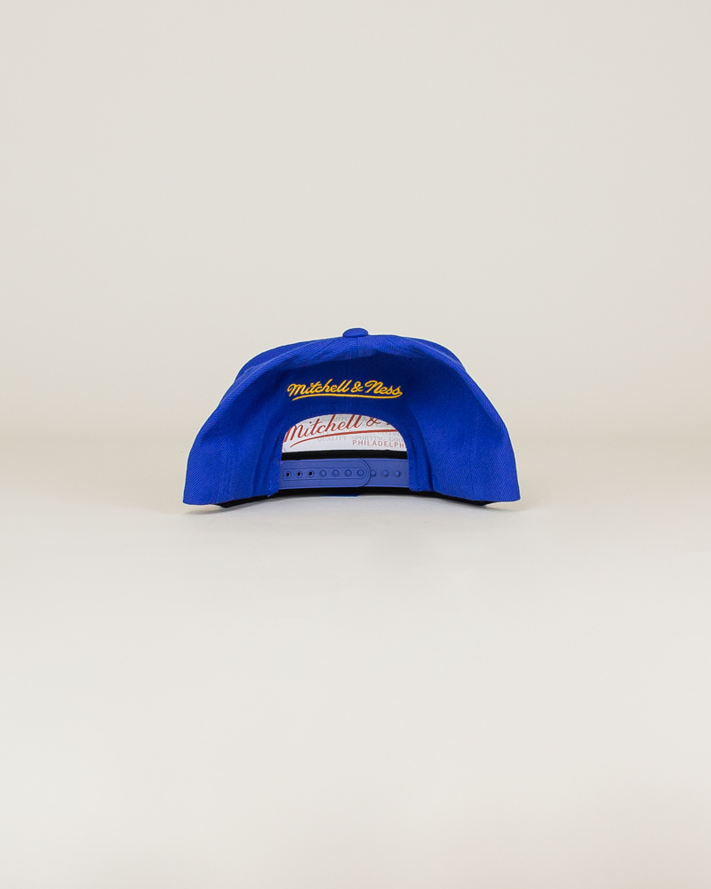 Mitchell & Ness Pacers Wool Solid Hat - Blue-5