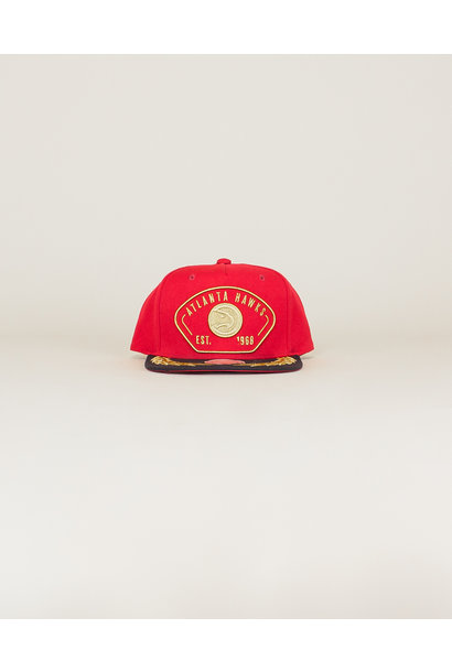 Mitchell & Ness NBA Captains Hat - Red