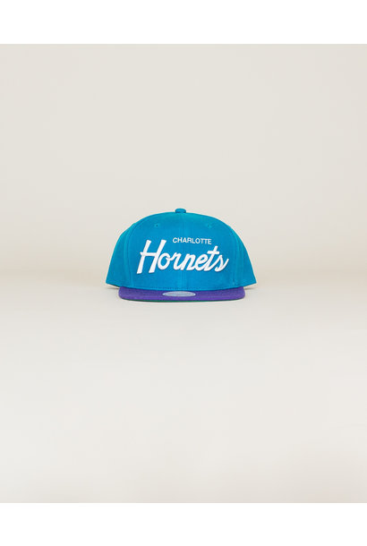 Mitchell & Ness Hornets Classic Hat - Teal
