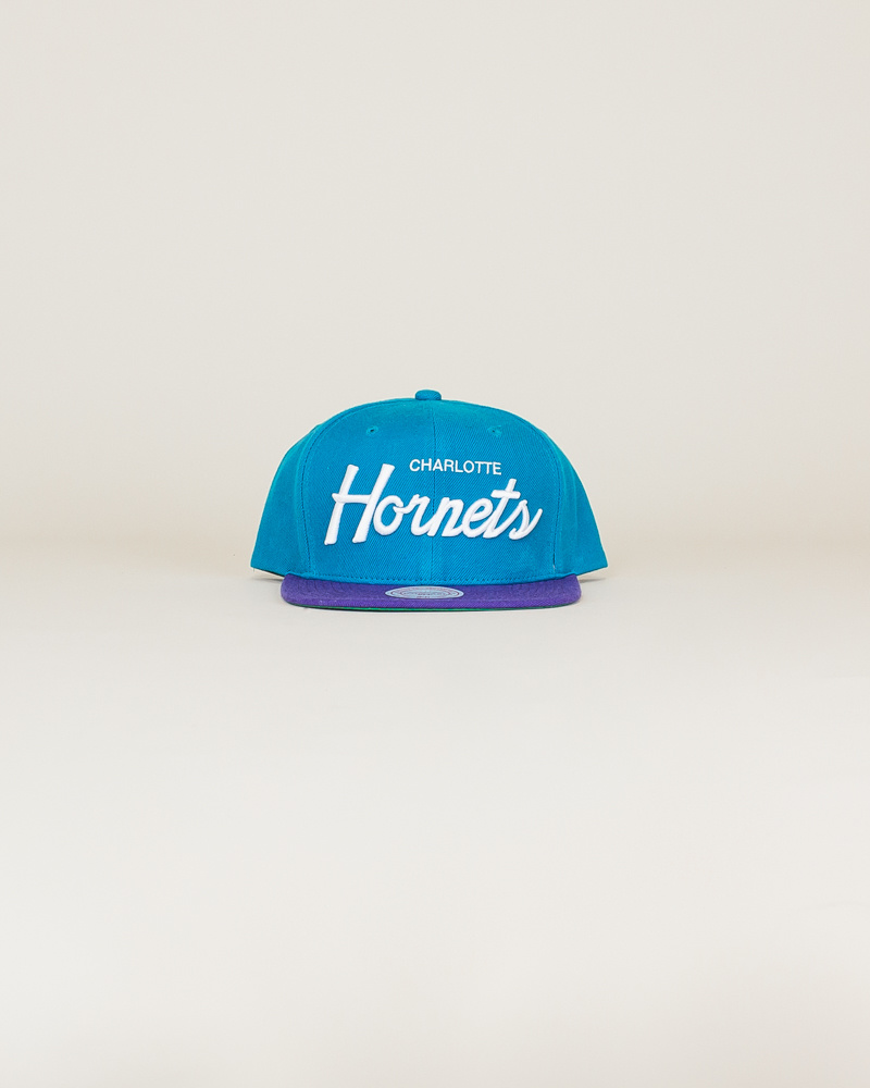 Mitchell & Ness Hornets Classic Hat - Teal-1