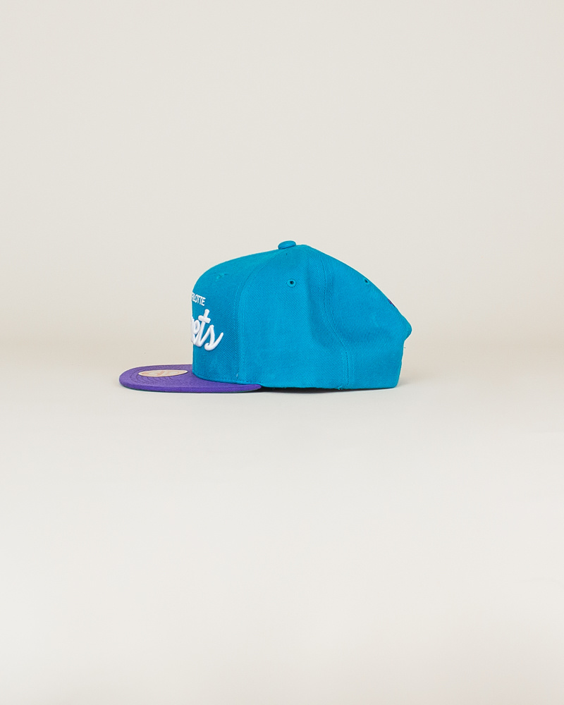 Mitchell & Ness Hornets Classic Hat - Teal-2