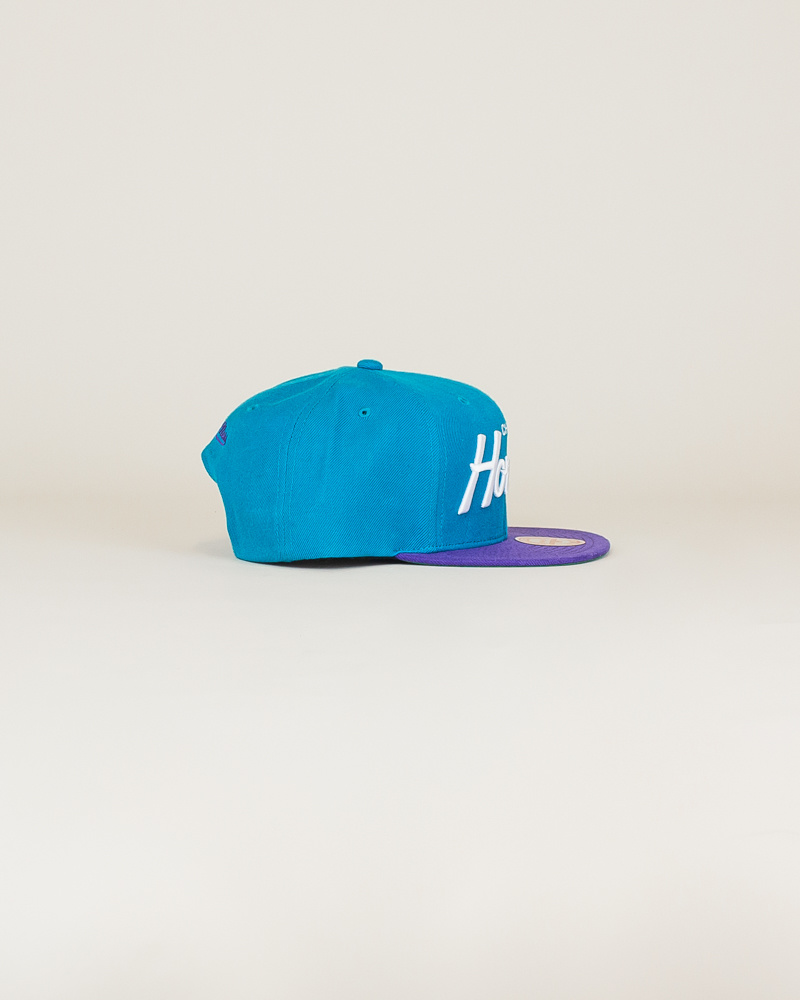 Mitchell & Ness Hornets Classic Hat - Teal-3