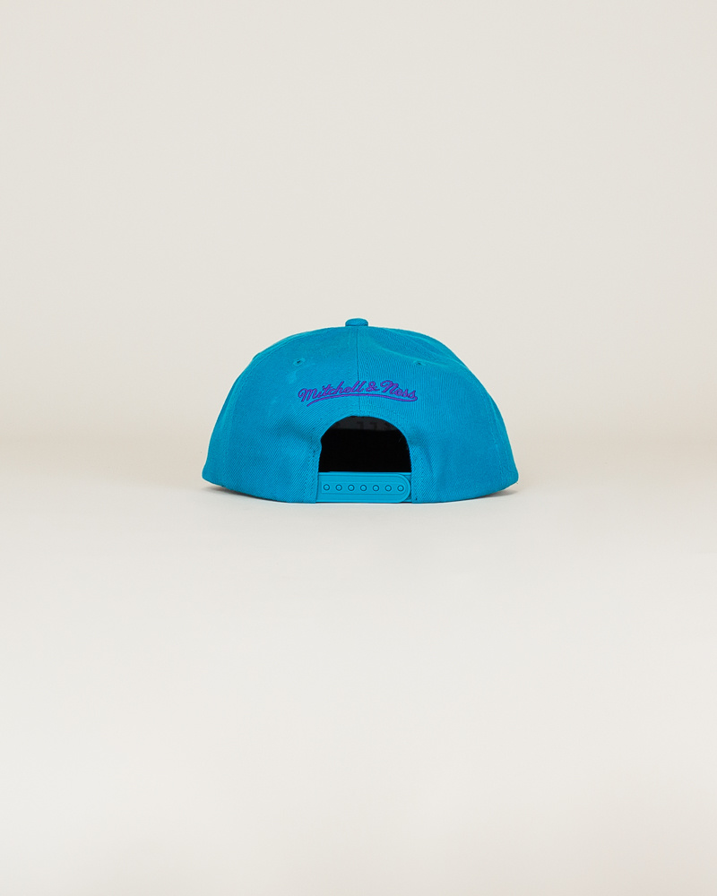 Mitchell & Ness Hornets Classic Hat - Teal-4