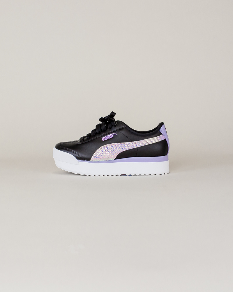 Puma Roma Amor Metallic - Black/ Purple-1
