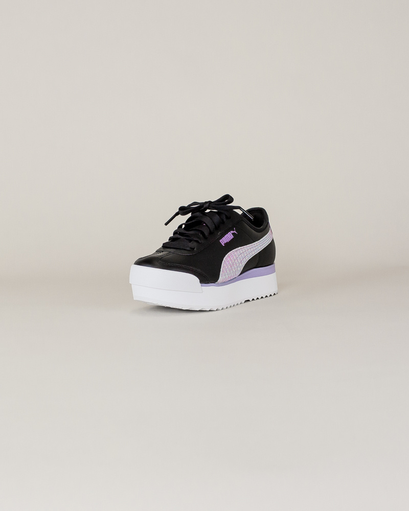 Puma Roma Amor Metallic - Black/ Purple-3