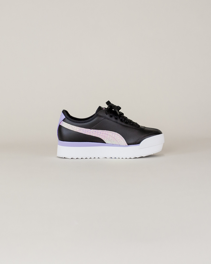 Puma Roma Amor Metallic - Black/ Purple-4