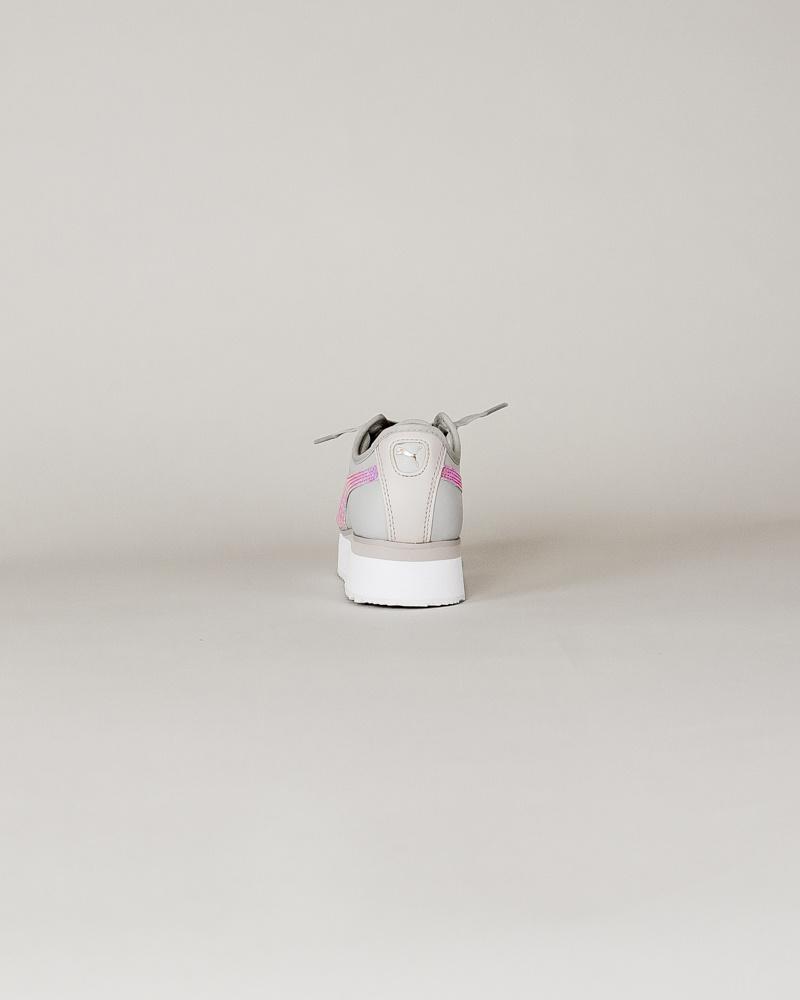 Puma Roma Amor Metallic - Gray/ Pink-6