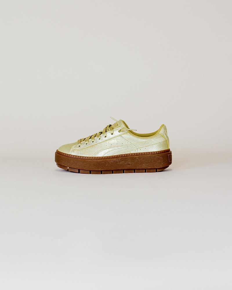 Puma Basket Platform - Gold-1