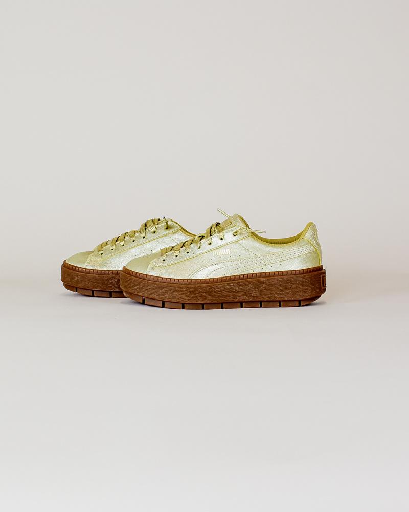 Puma Basket Platform - Gold-2