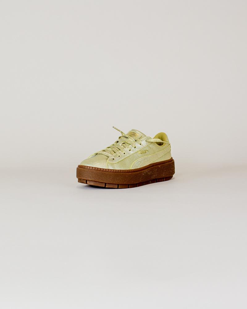 Puma Basket Platform - Gold-3