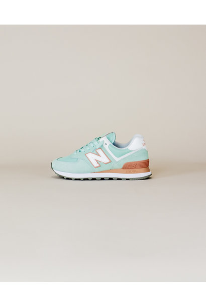 New Balance W 574 ESE - White Agave