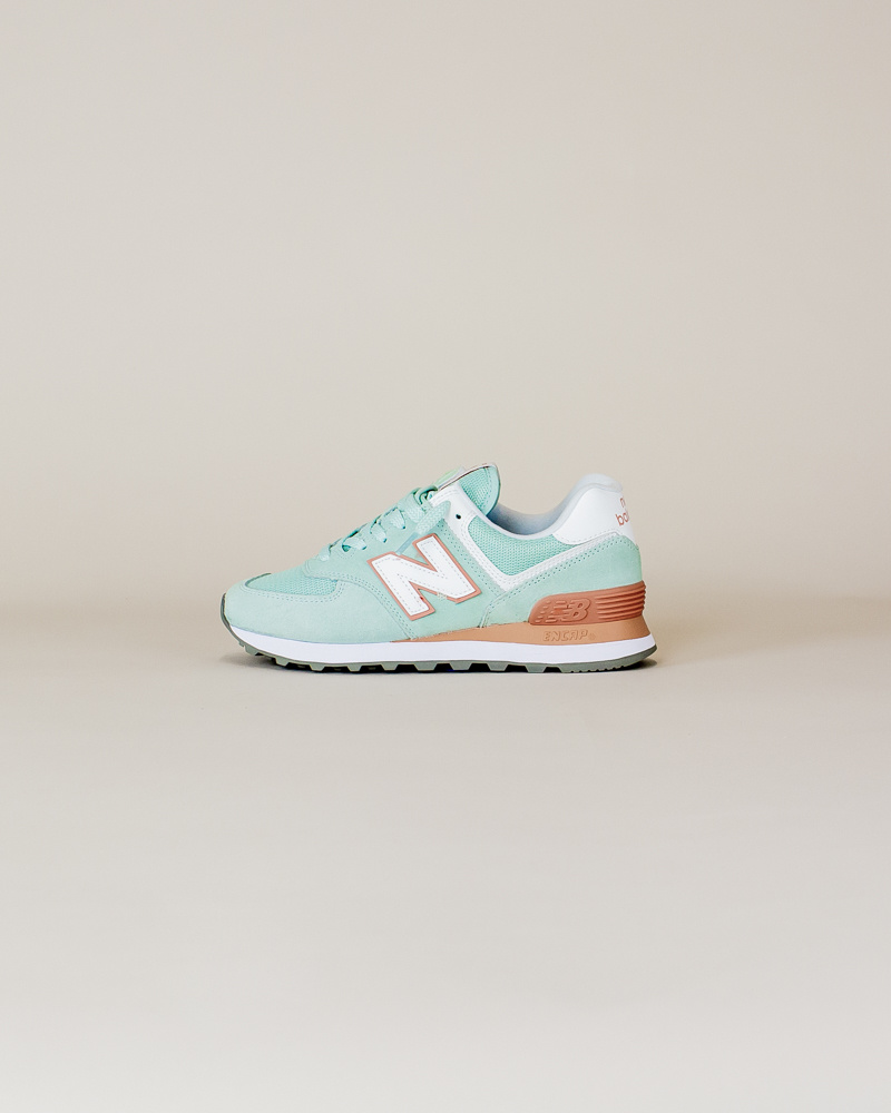 New Balance W 574 ESE - White Agave-1