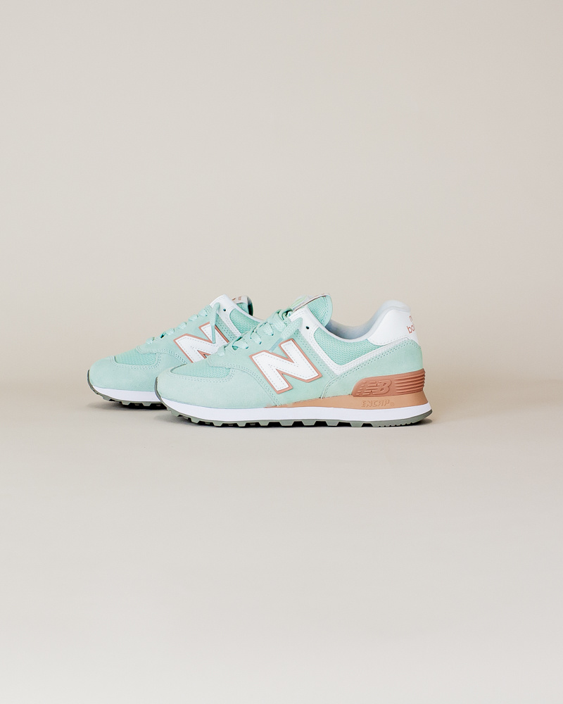 New Balance W 574 ESE - White Agave-2