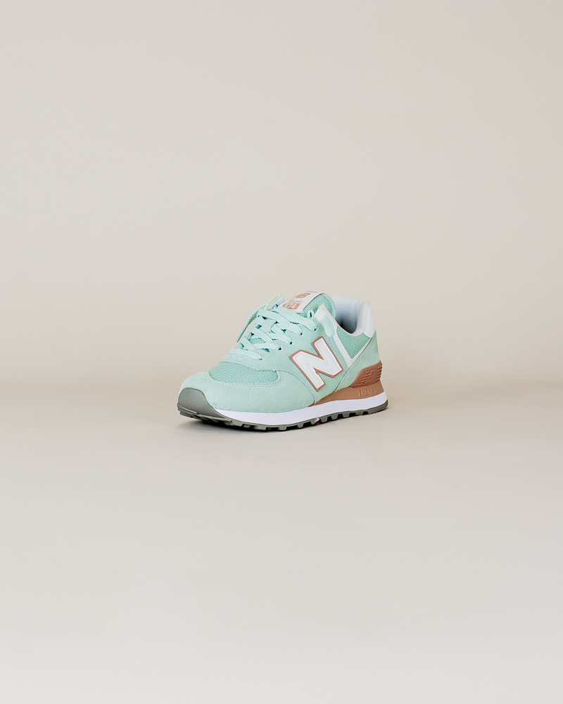 New Balance W 574 ESE - White Agave-3