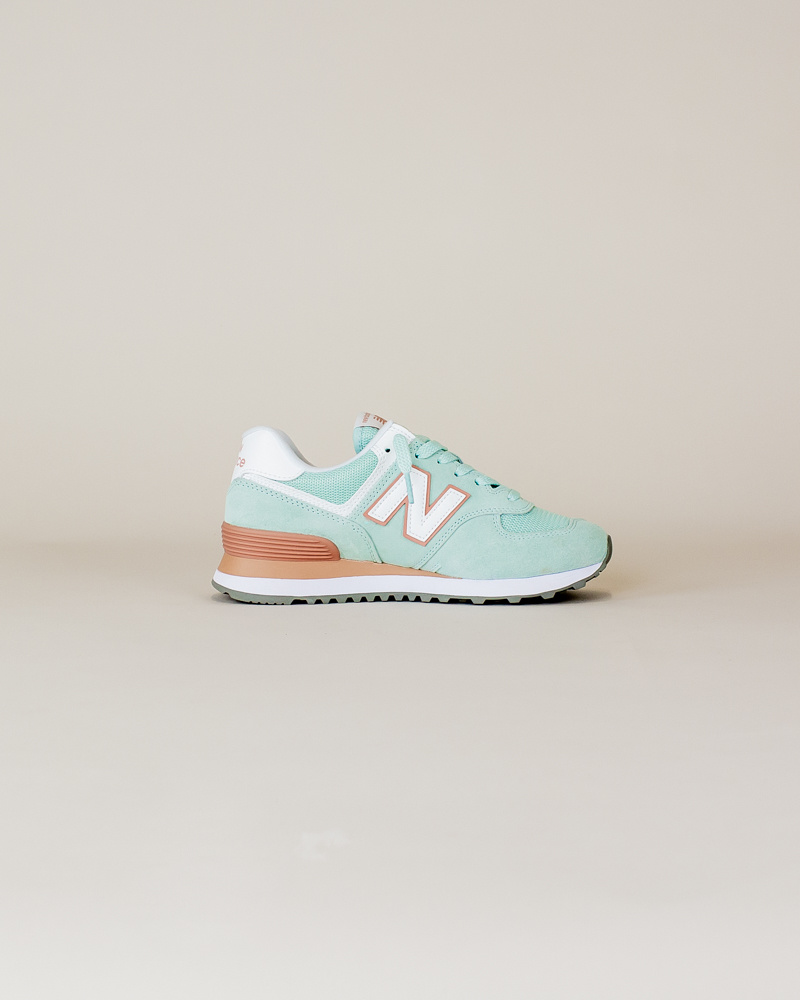 New Balance W 574 ESE - White Agave-4