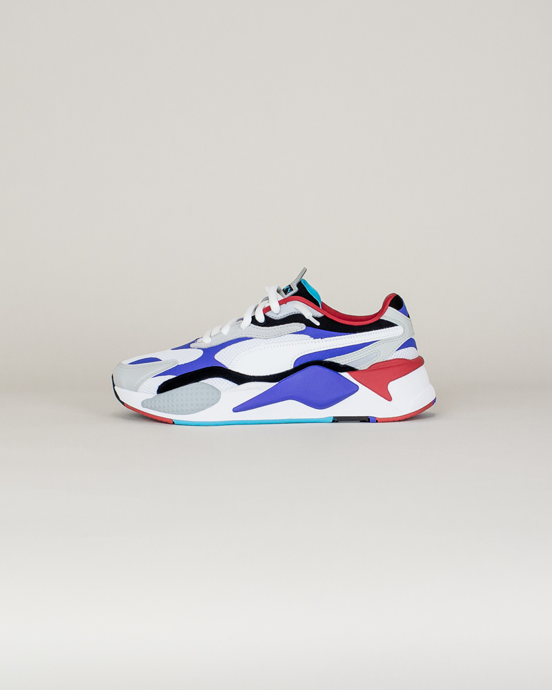 Puma RS-X3 Puzzle - White/Red/Blue-1