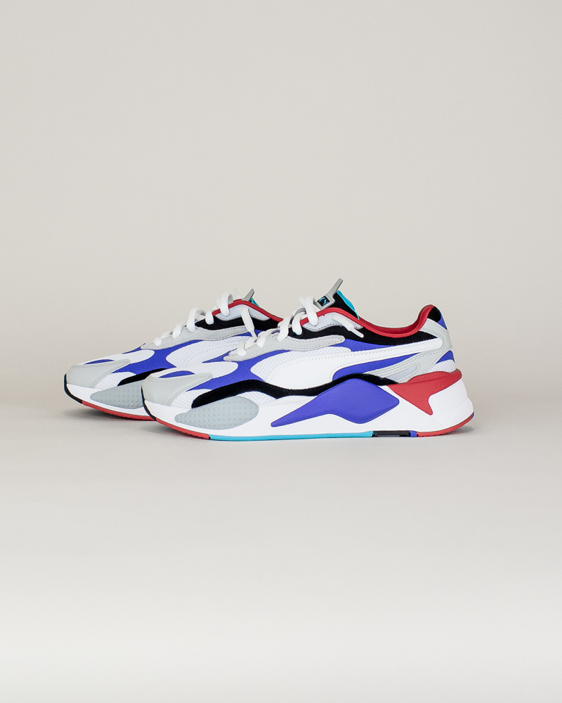Puma RS-X3 Puzzle - White/Red/Blue-2