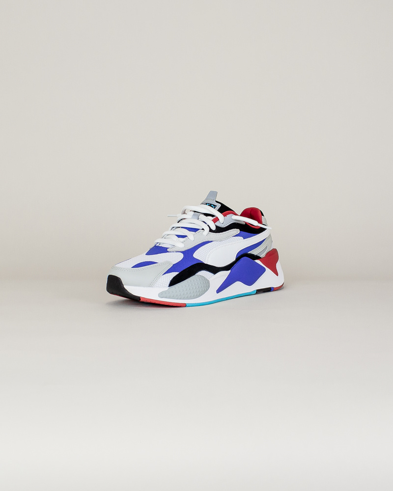 Puma RS-X3 Puzzle - White/Red/Blue-3