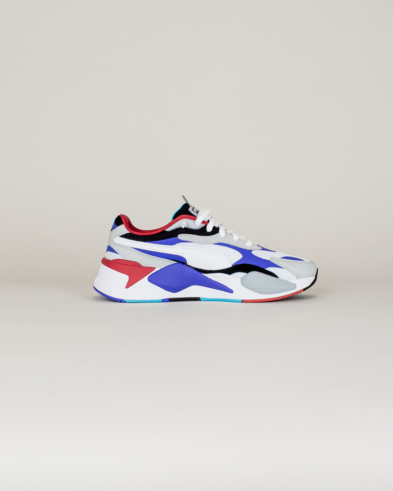 Puma RS-X3 Puzzle - White/Red/Blue-4