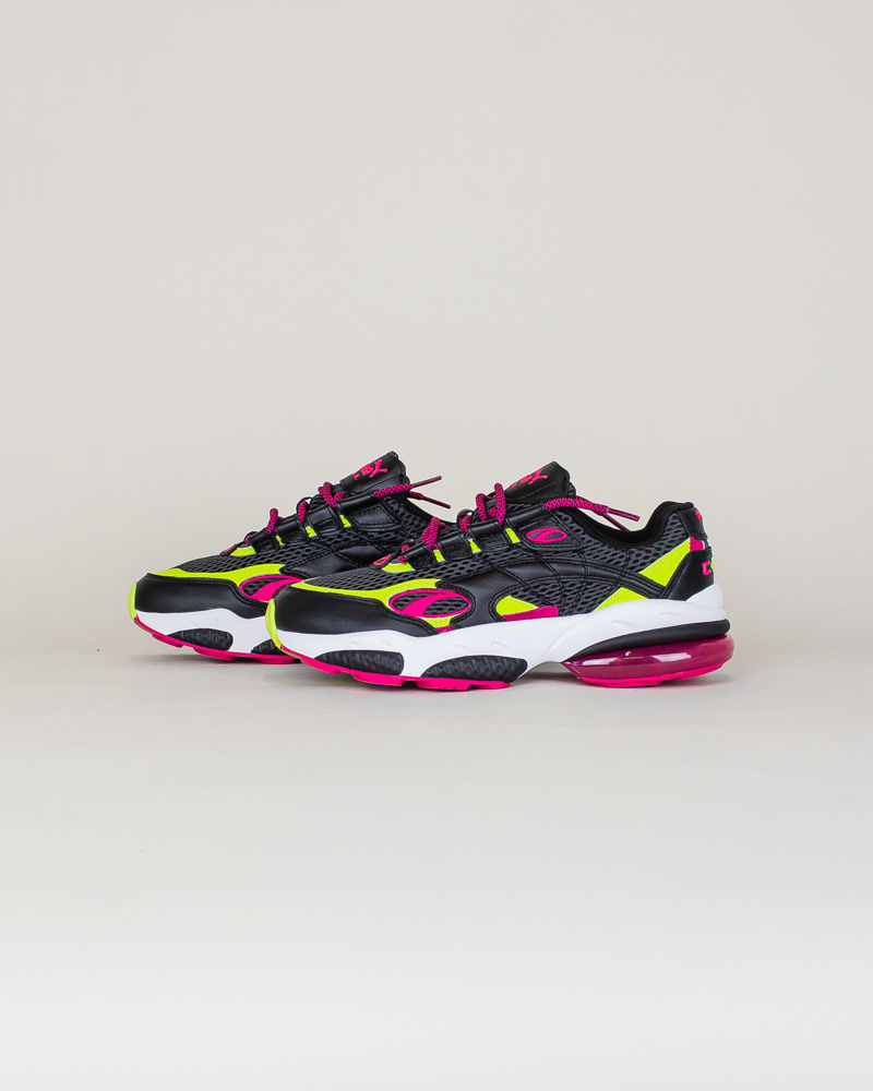 Puma Cell Venom Fresh Mix - Black/ Lime-2