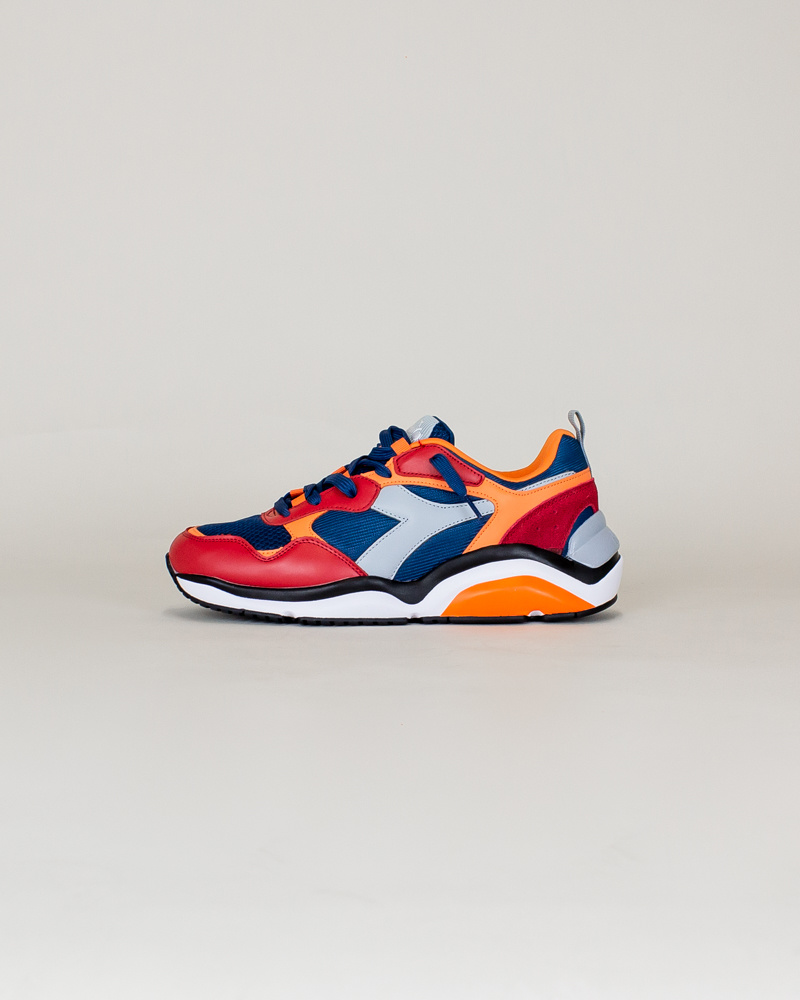 Diadora Whizz Run - Blue Bird/ Paradise-1