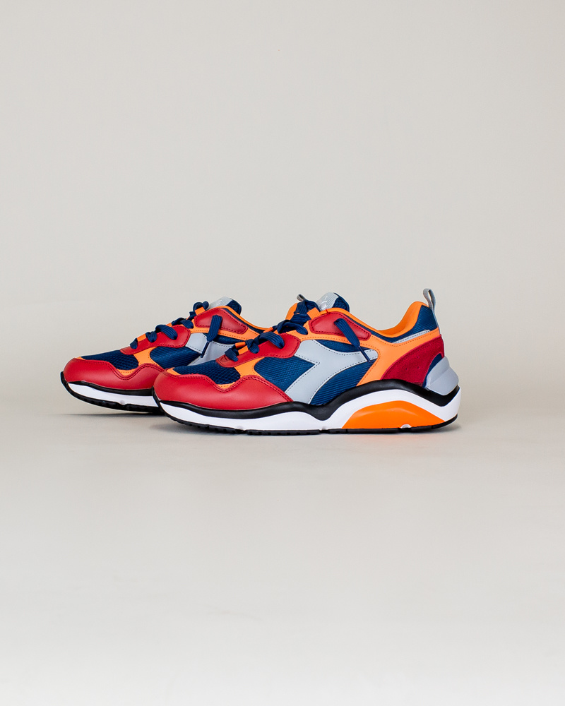 Diadora Whizz Run - Blue Bird/ Paradise-2