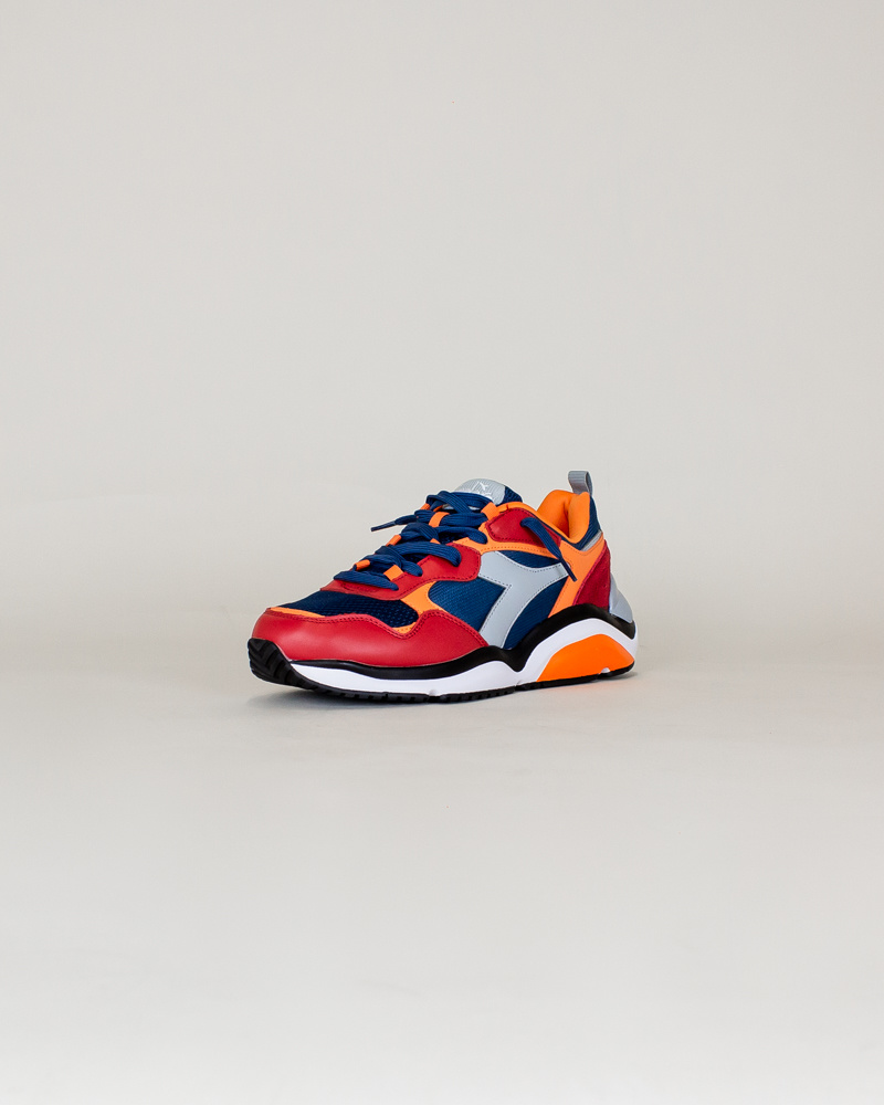 Diadora Whizz Run - Blue Bird/ Paradise-3