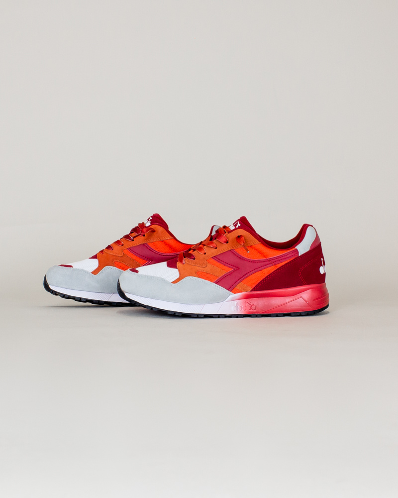 Diadora N902 Speckled - Carrot/Red-2