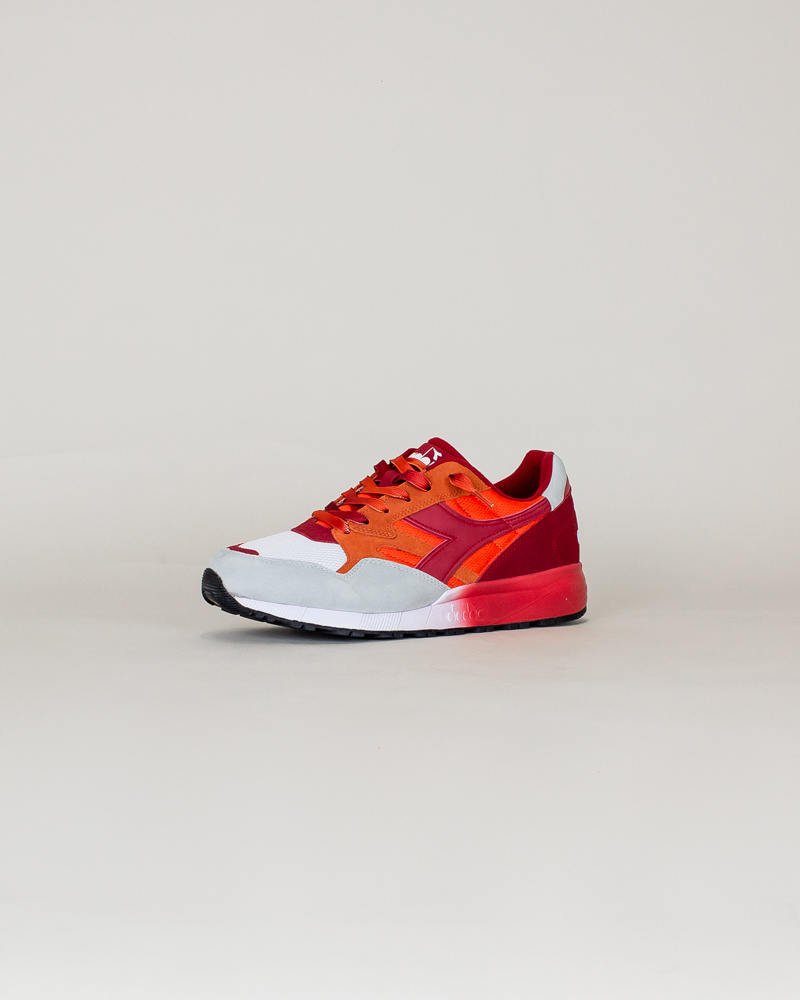 Diadora N902 Speckled - Carrot/Red-3