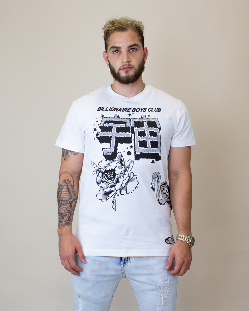 Billionaire Boys Wellness S/S Tee - White-1