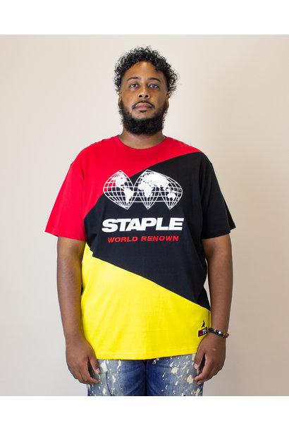 Staple World Race Logo Shirt - Black