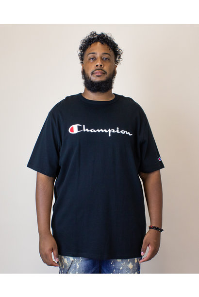 Champion Heritage S/S T-Shirt - Black