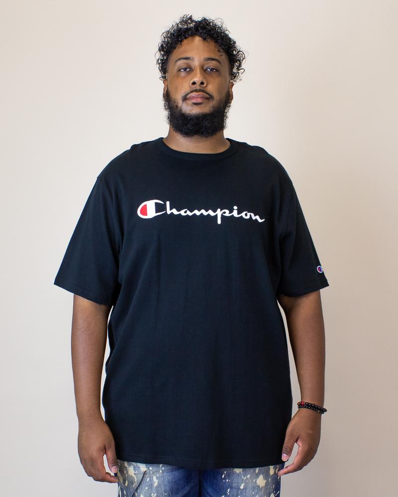 Champion Heritage S/S T-Shirt - Black-1