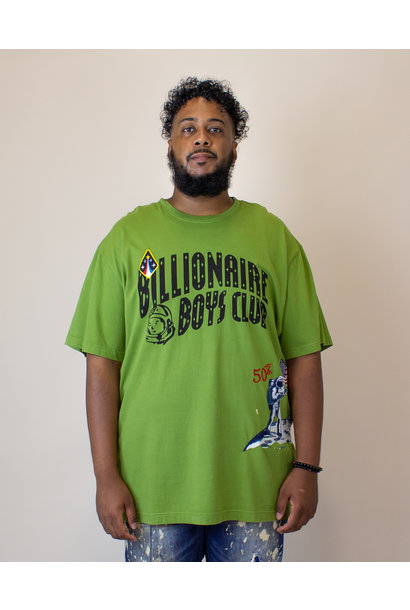 Billionaire Boys Moonwalk S/S Knit - Green