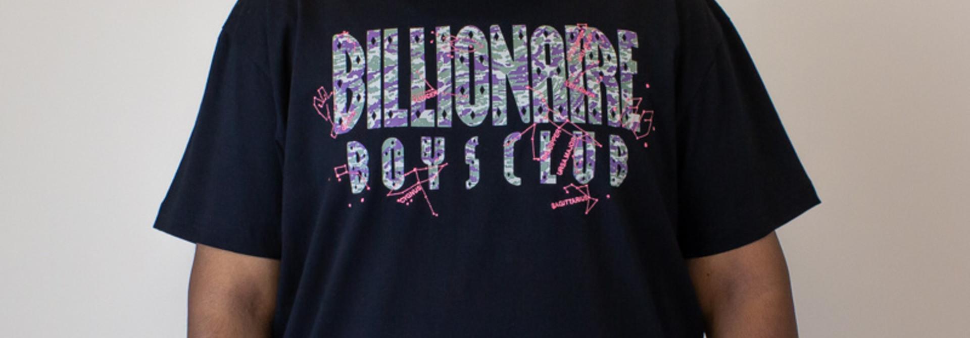 Billionaire Boys Constellations S/S Knit - Black