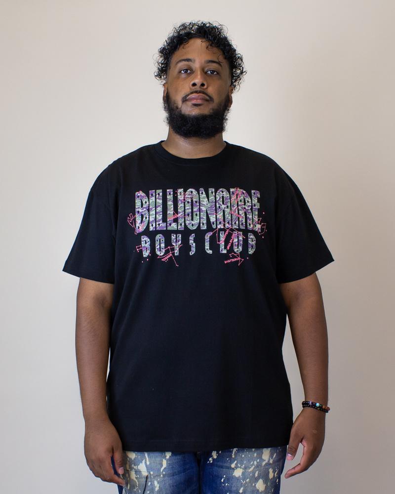 Billionaire Boys Constellations S/S Knit - Black-1