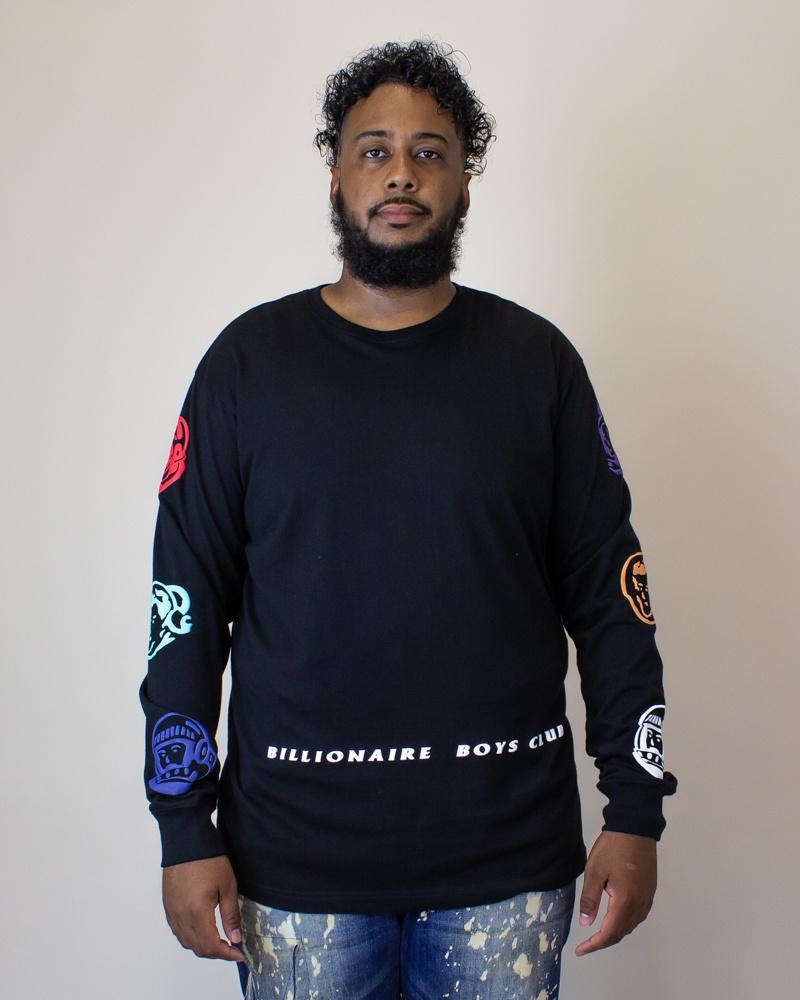 Billionaire Boys Universes L/S - Black-1
