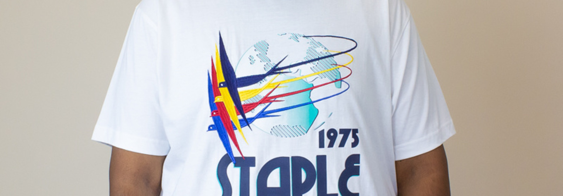Staple Grand Prix Intro Shirt - White