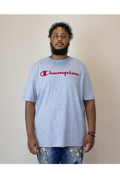 Champion Heritage Mock Twist S/S T-Shirt - Indigo Screen