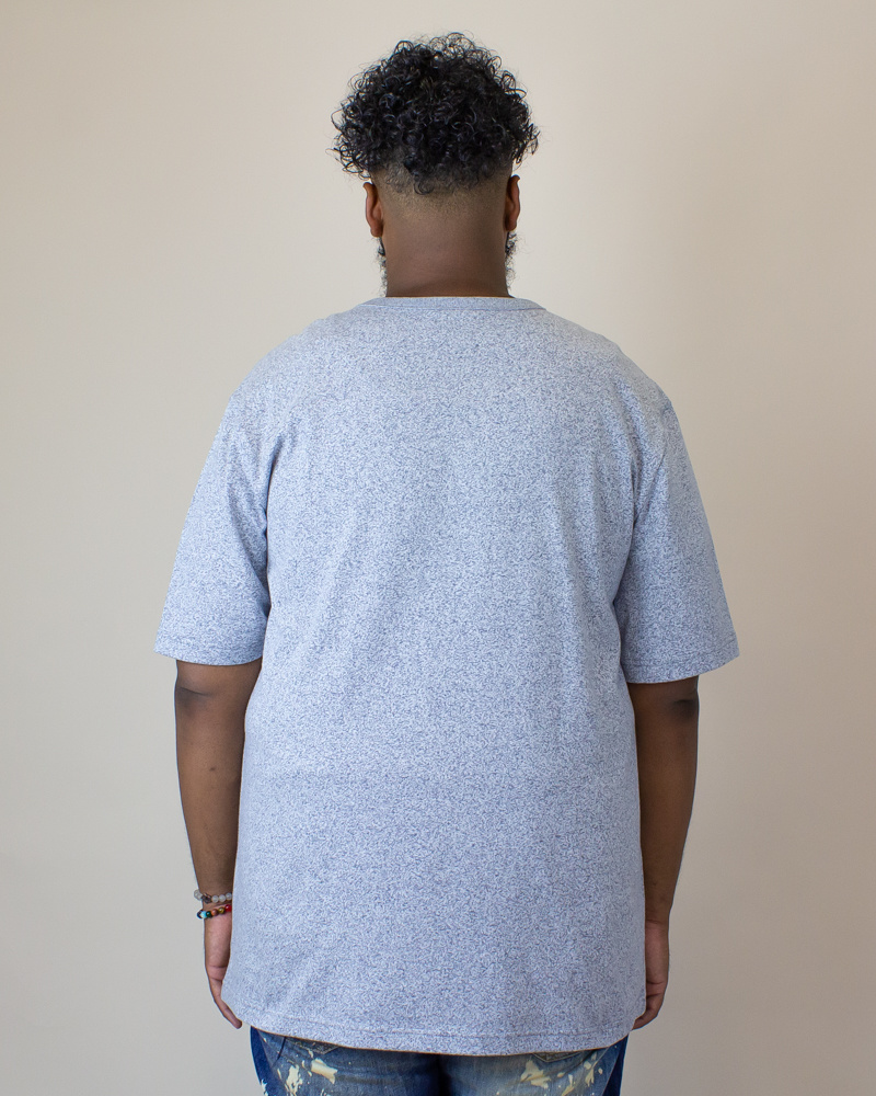 Champion Heritage Mock Twist S/S T-Shirt - Indigo Screen-2