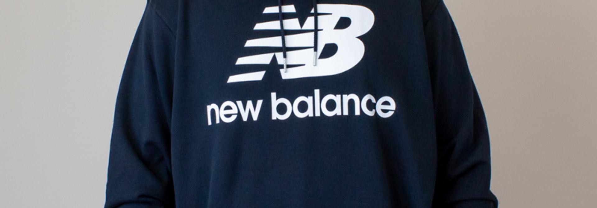 New Balance E Hoodie - Black