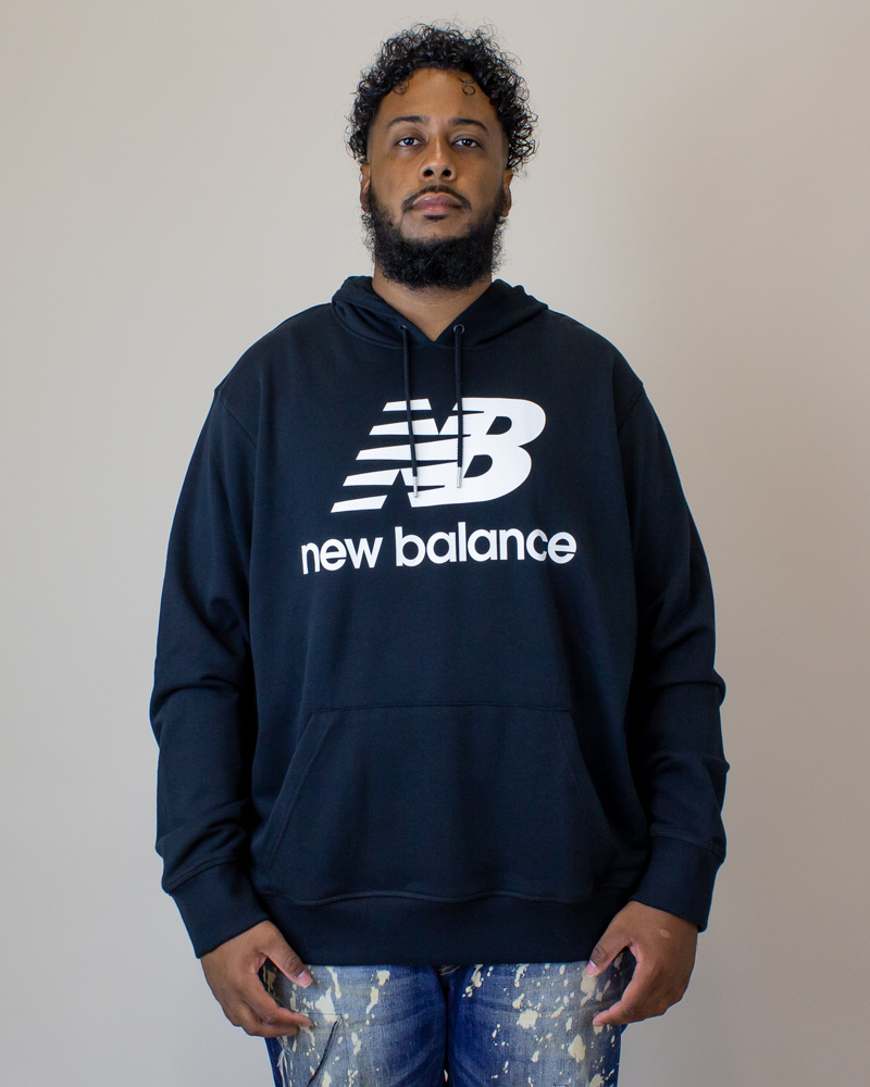 New Balance E Hoodie - Black-1