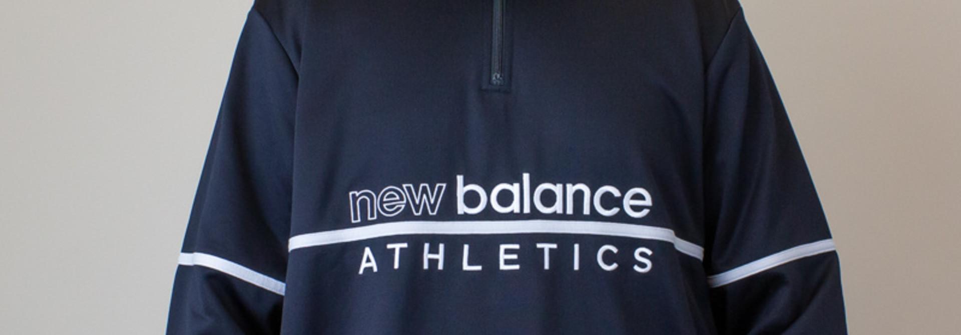 New Balance Track 1/4 Zip - Black