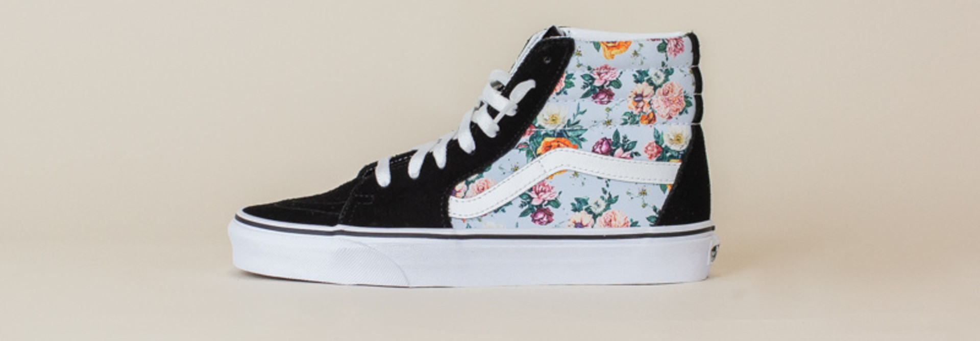 Vans Sk8-Hi - Black/Garden Floral