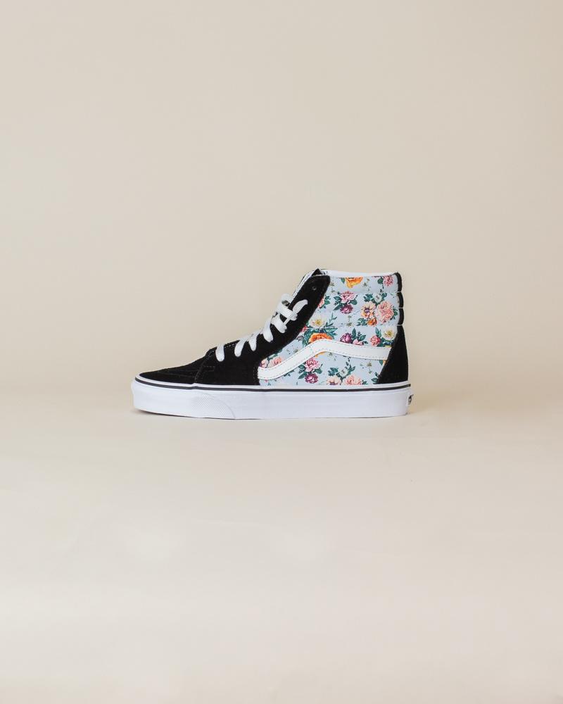 Vans Sk8-Hi - Black/Garden Floral-1
