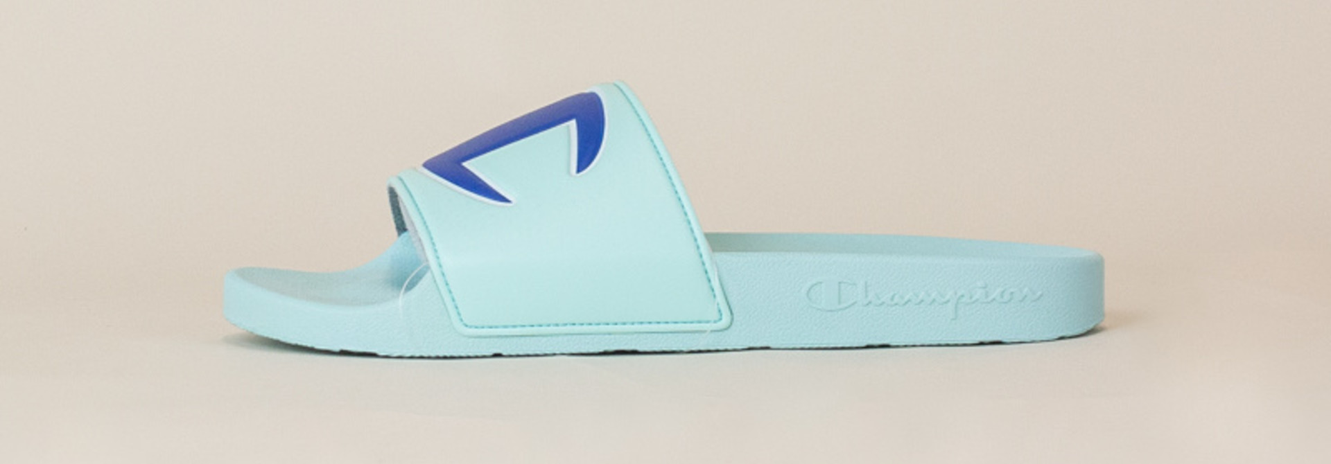 Champion IPO Slide Sandals - Waterfall